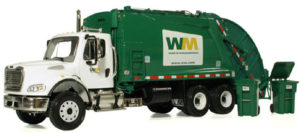 trash truck wm