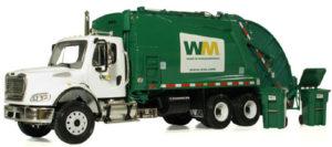 trash truck wm